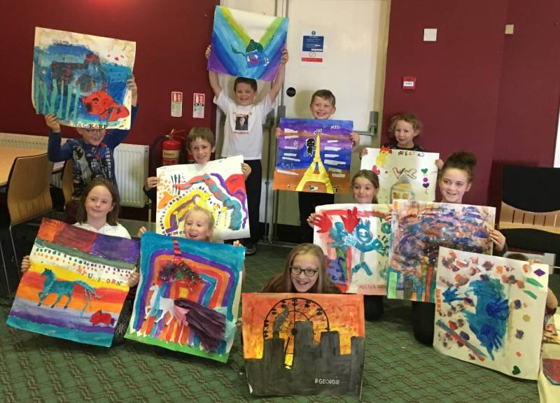 Young Carers Summer Arts Programme - June 2017
