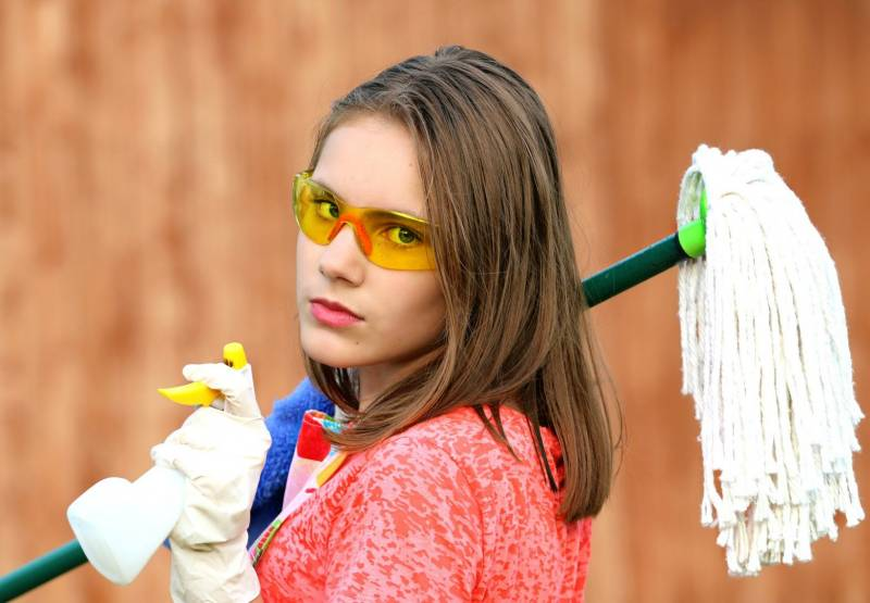 Top 10 spring-cleaning tips (and there isn't a duster to be seen)