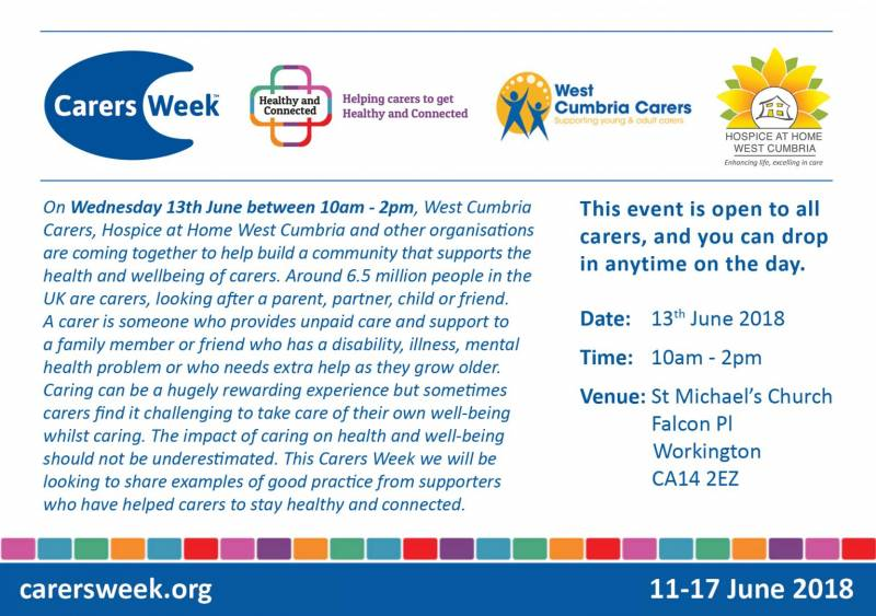 Get Healthy and Connected this Carers Week
