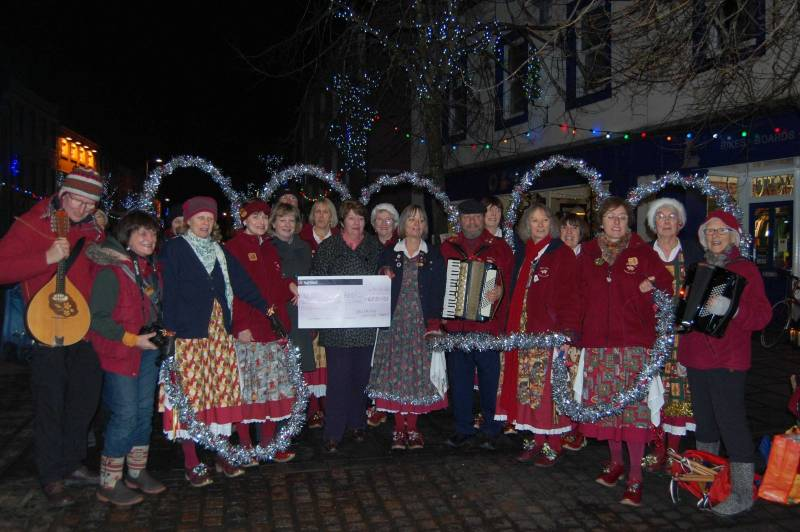 Donations From Dancing – £627 Raised by Belfagan Morris Group.