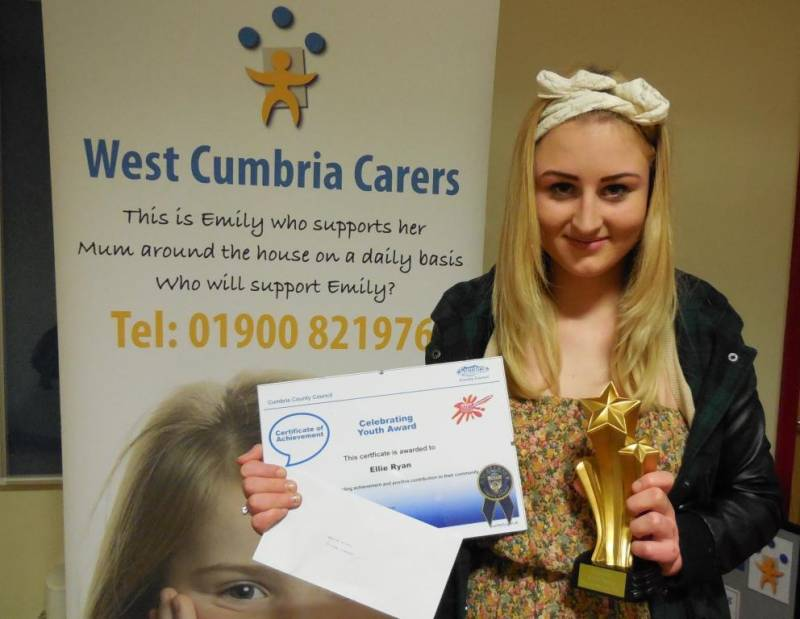 Young Carer Triumphs at Celebrating Youth Awards