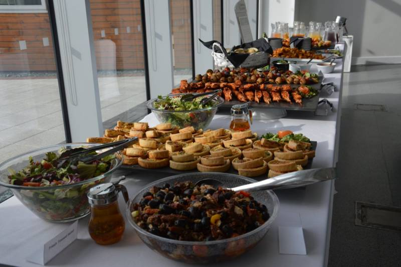 The amazing buffet provided at our Volunteer Thank You event