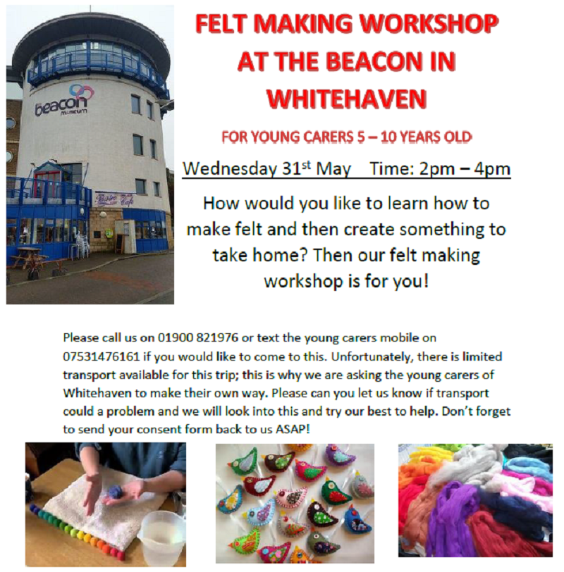 Young Carers Holiday Activites