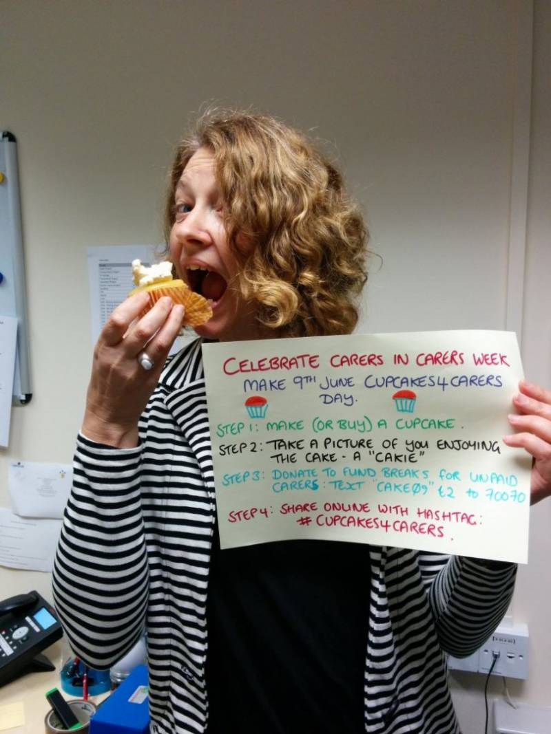 Cupcakes4Carers - Take A Cakie and Celebrate Carers This June