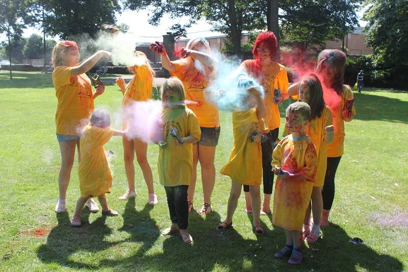 Young Carers Get Colourful Ahead of Colour Run
